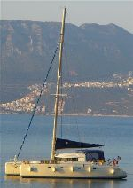 Photo fountaine pajot venezia 42 Occasion de 1993