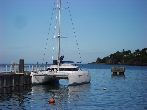 Photo fountaine pajot Lavezzi 40 Occasion de 2005