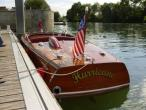 bateau CHRIS CRAFT deluxe Occasion de 1946