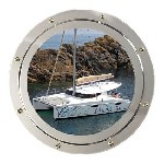 Photo fountaine pajot Mahé 36 Evolution Occasion de 2010