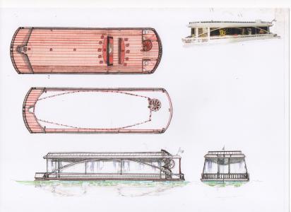 amateur sur plan 2 arcitectes naval bateau fluvial. Black Bedroom Furniture Sets. Home Design Ideas