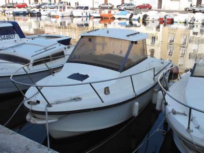 Double commande moteur bateau